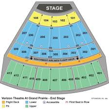 Verizon Theater Seating Chart View 44 You Will Love The Theatre At Grand Prairie Seating Chart