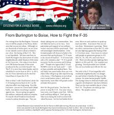 Stop the F35 Primary Election Voting Guide - Stop the F-35
