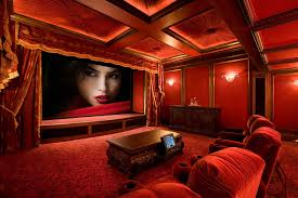 Home Theater Room Design Simple Inspiration Ideas
