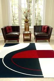 red and black rug red and black rugs amazing modern red black white pile cut design