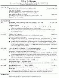 resume objective samples resume cv example of resume 10