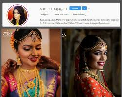 sam col min top 10 bridal makeup artists in chennai you should follow on