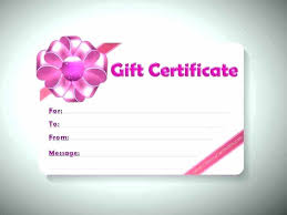 Make Your Own Gift Certificate Free Printable Free Printable Gift Certificate Template Birthday Templates