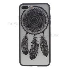 Dream Catcher Case Iphone 7 Plus For iPhone 100 Plus Black Lace Style Matte PC TPU Hybrid Case 19