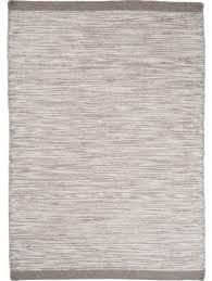 asko wool rug light grey
