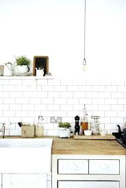 white subway tile kitchen tiles are back in style inspiring designs pictures trend faux with gray white subway tile