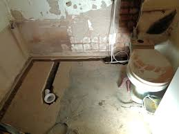 install shower tray on concrete floor wikizie co