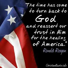 Christian Quotes On Memorial Day Best of Reagan Quote Healing Of America ChristianQuotes