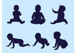 Vectors Silhouettes Vector Baby Silhouettes Download Free Vector Art Stock Graphics
