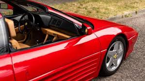 > there were very few. 1991 Ferrari 348 Ts For Sale By Auction Car And Classic