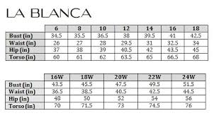 Swimsuit Top Size Chart La Blanca Black All Meshed Up Plus Size High Neck Bikini Top