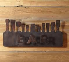on bar themed wall art with bar wall art pottery barn
