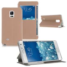 flip case view leather cover for samsung galaxy