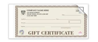 gift certificate for business is your business giving the gift of secure gift certificates