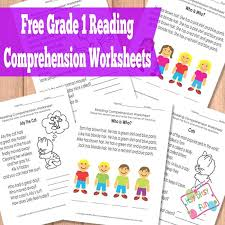 Grade 1 Reading Comprehension Worksheets | Reading comprehension ...