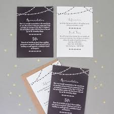 wedding invitation philippines new fairy light wedding invitation and rsvp by the two wagtails of wedding