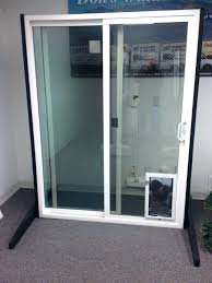 door with built in dog door sliding glass doors with door built in storm dog french