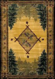rustic lodge style area rugs genesis forest trail rug by united weavers furniture