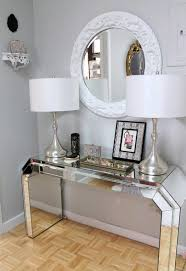 pretty mirrored furniture design ideas. 5 Beautiful Entrance Halls With A Round Mirror_Nichole Loiacono Design  Pretty Mirrored Furniture Design Ideas W