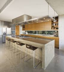 ... Modern Kitchen Booths On Bench : Incredible Modern Kitchen Design Ideas  With Bench And Range Hood ...