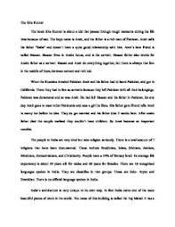 essay of kite runner the kite runner critical essays enotes com
