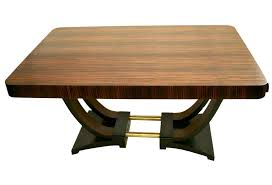 French Art Deco Dining Room Table Omero Home