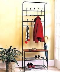 Coat Rack Ebay Enchanting Ebay Storage Bench Wooden Entryway Storage Bench Metal Hooks W Knobs