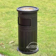 decorative outdoor trash can decorative outdoor garbage cans superb patio garbage can 5