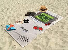 Funny beach towels Diy Retro Gamer Beach Towels Trend Hunter Retro Gamer Beach Towels Funny Beach Towel