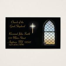 Christian Business Cards Stained Glass Business Cards