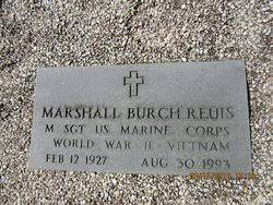 Marshall Burch Reuis (1927-1993) - Find A Grave Memorial