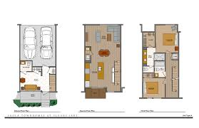 LEVEL 15 Floor PlansNew Townhomes In Escondido  North County Townhomes Floor Plans