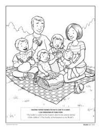 Now check out here 10 amazing family coloring pages printable for you to spend some quality time with your child. Family Coloring Page Lds Lesson Ideas Family Coloring Pages Lds Coloring Pages Family Coloring
