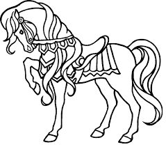 Small Picture Horse Colouring Book Pages Coloring Pages