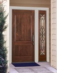 home front doorNatural Wood Front Door Design  Home  Pinterest  Wood front