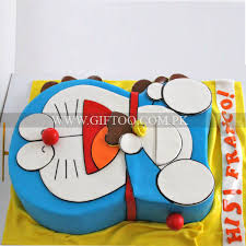 Doremon Cake 7 Pounds Send Gifts To Pakistan Giftoo No 1 Gift