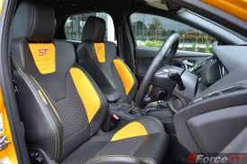 2016 ford focus st recaro seats