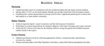 resume example for skills section skills and accomplishments for resume examples under