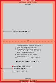 Greeting Card Print Specifications Expresscopy Com