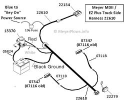 meyers snow plow wiring diagram wiring meyer plow wiring diagram dodge meyer harness 22610 to meyers snow plow wiring diagram