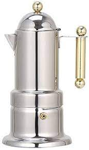 :) we really enjoyed our italy trip in june of 2018. Amazon Com Stovetop Espresso Maker Express Coffee Maker Moka Pot 4 Cups Demitasse Espresso Shot Stainless Steel Italian Design For Espresso Cappuccino And Latte Coffee Kitchen Dining