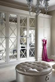 glass closet doors closet doors mirrored closet door silver chandelier tufted silver round