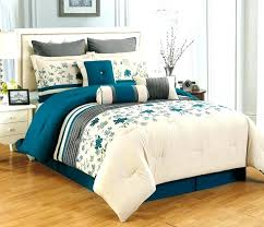 brown and turquoise bedding comforter king white bedspread teal black