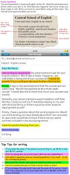 A More Formal Email Learnenglish Teens British Council