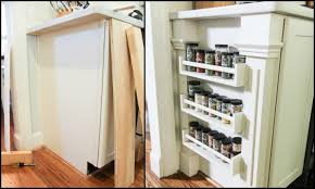 How To Build A Spice Rack Custom How To Make A Builtin Spice Rack DIY Spice Rack