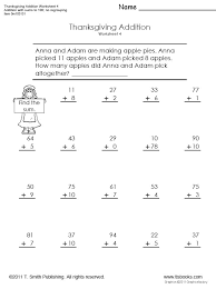 Thanksgiving Worksheets For Second Grade Worksheets for all ...