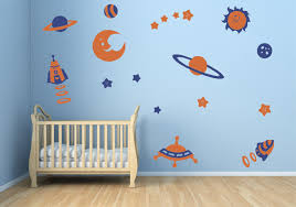 Small Picture Space Theme Decal Stickers Contemporary Wall Decals by