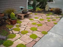 patio stones with grass in between. Contemporary Stones A Miniature Stone Bench For A Planter Planting Between The Patio Stones  And Other For Patio Stones With Grass In Between
