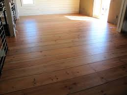 pine boards added t g and small reveal then nailed down applied ecowood treatment finish fake hardwood floors pine wood flooring wide plank