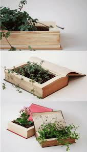 Care for a Book Planter DIY with your Weekend Links Today Ma'am?